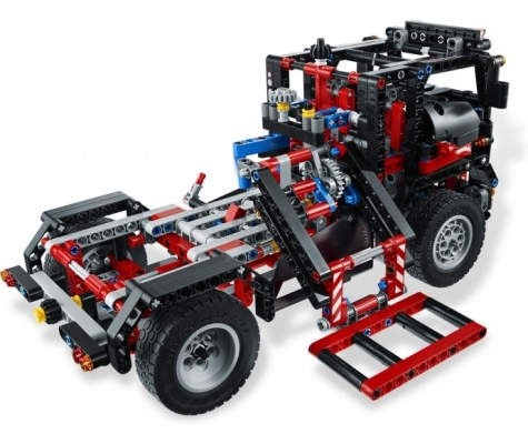 lego 9395 technic pick up sleepauto 2 in 1. Black Bedroom Furniture Sets. Home Design Ideas